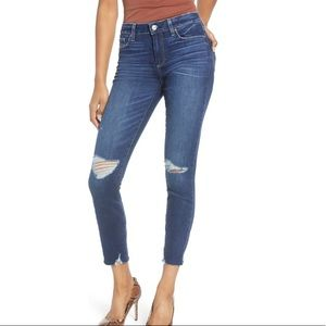 Paige Verdugo Ultra Skinny Distressed Jeans